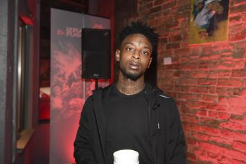 "21 Savage Scores His Highest-Charting Song With ""Bank Account"""