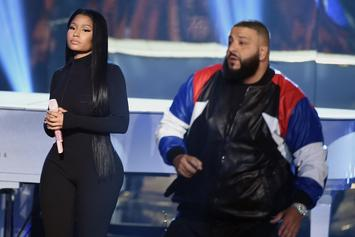"Asahd Khaled Gifts Nicki Minaj With Platinum Plaque For ""Do You Mind"""