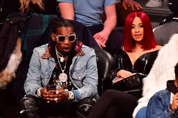 "Migos Brought Out Cardi B To Perform ""Bodak Yellow"" In Toronto"