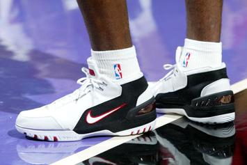 LeBron James' Original Nike Air Zoom Generation To Release This Month
