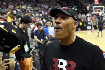 "LaVar Ball And Ice Cube's ""Four Point Challenge"" Set For Sunday"