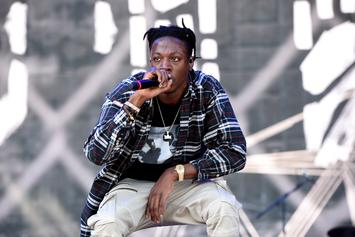 Joey Bada$$ Has A Legit Eye Injury, Forced To Wear Protective Glasses