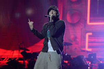Eminem & Russ Perform And Hang Together In The U.K.