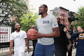"""Kevin Durant: """"Nobody Wants To Play In Under Armours"""""""
