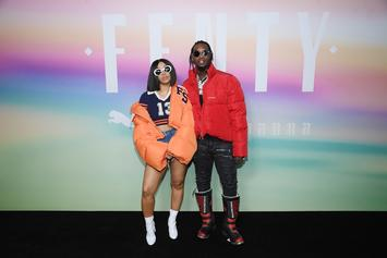 "Offset Celebrates Cardi B's ""Bodak Yellow"" Hitting No. 1"