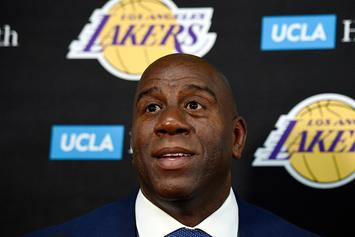 Magic Johnson Supports Steph Curry, LeBron James' Trump Comments