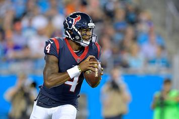 Deshaun Watson Donates First Game Check To Cafeteria Employees: Watch