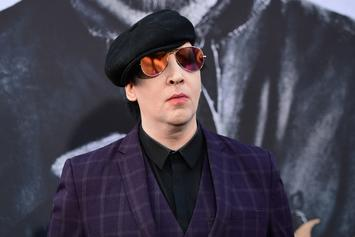 Marilyn Manson Hospitalized After Stage Prop Falls On Him At NYC Show