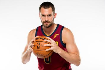 Cleveland Cavs Reportedly Plan To Start Kevin Love At Center