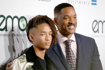 Will Smith & Jaden Smith Perform At Louis Vuitton Store Launch