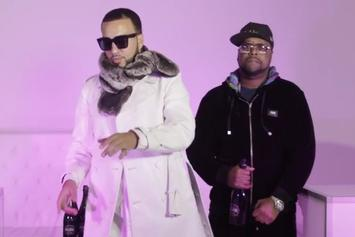 """French Montana, Dave East & Zoey Dollaz Assist DJ Kay Slay In New Video """"Rose Showers"""""""