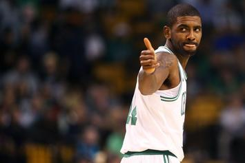 "Kyrie Irving On Boston: It's ""A Real, Live Sports City"""