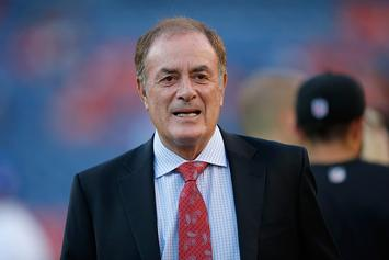 Al Michaels Apologizes For Comparing NY Giants To Harvey Weinstein