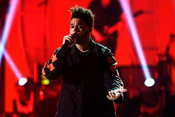 "The Weeknd Shows Off Record Breaking Plaques For ""Starboy"""