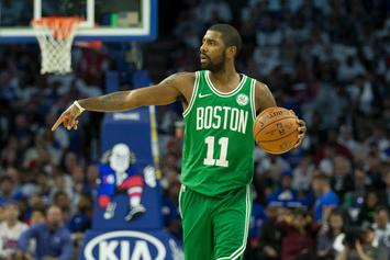 "Kyrie Irving Fined For Yelling ""Suck My D*ck"" At Sixers Fan"
