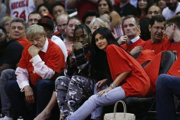 Travis Scott & Kylie Jenner Seen In Public Together As Pregnancy Rumors Continue