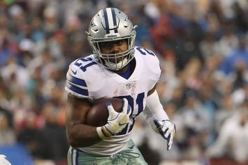 Ezekiel Elliott Officially Suspended Six Games