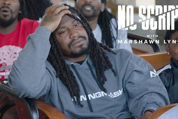 "Marshawn Lynch Conquers His Fear Of Roller Coasters On ""No Script"""