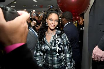 "Rihanna Shares Touching Message After Barbados Unveils ""Rihanna Drive"""