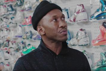 "Mahershala Ali Talks Favorite Basketball Sneakers On ""Sneaker Shopping"""