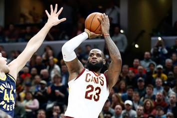 "Lakers ""A Long Shot"" To Sign LeBron James: Report"