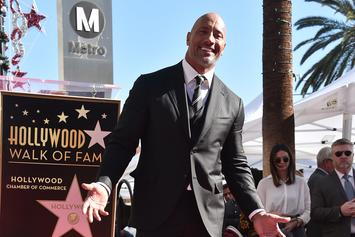 "Dwayne ""The Rock"" Johnson Receives Star On Hollywood Walk Of Fame"