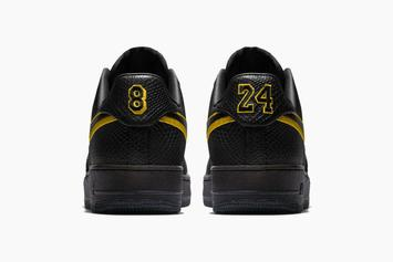 "Nike Releasing ""Black Mamba"" AF1 In Honor Of Kobe's Retirement Ceremony"