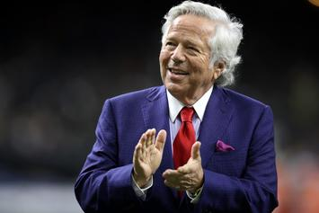 "Patriots Owner Bob Kraft Praises Diddy: ""Im A Big Fan Of His"""