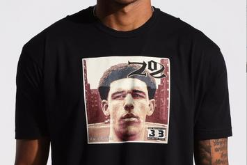 "Big Baller Brand Releases Gear With Lonzo's Face On Nas' ""Illmatic"" Cover"