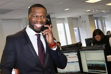 """50 Cent """"Squashes Beef"""" With Son, Sire, Takes Him On Helicopter Ride"""