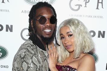 Cardi B & Offset Squash Cheating Rumors With Bawdy Instagram Live Videos