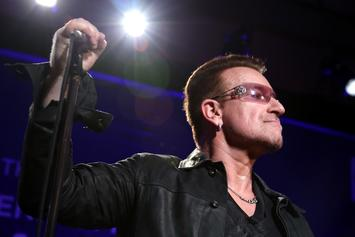 "Bono Says Hip-Hop Is The Only Place In Music For ""Young Male Anger"""