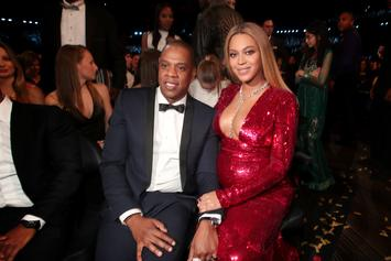 "Beyoncé Shares Photos From Jay-Z's ""Family Feud"" Shoot On Instagram"