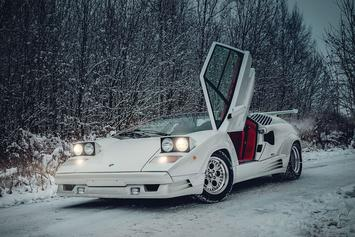 Lamborghini's 1991 Countach Heads To Auction For Over $360K