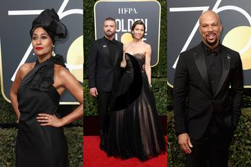 """Twitter Reacts To Stars' """"Black Out"""" Of Golden Globes Red Carpet"""