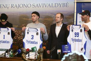LaMelo & LiAngelo Ball's First Prienu Vytautas Game: Live Stream