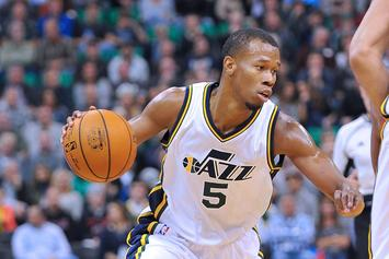 Rodney Hood Smacks Phone Out Of Fan's Hand After Ejection