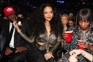 Rihanna Hits Up Grammy After Party With Billionaire Boyfriend