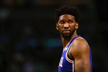 Joel Embiid Trolls Russell Westbrook After Posterizing Dunk