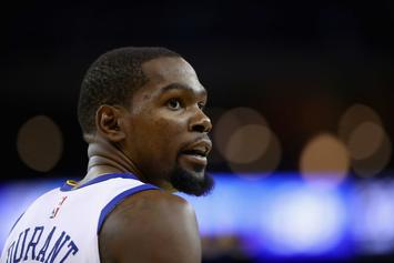 "Kevin Durant On LeBron-To-Warriors Rumor: ""Bullshit"""
