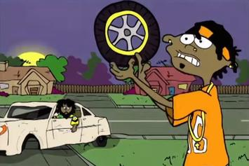 "J.I.D. Gets Animated In Excellent New ""EdEddnEddy"" Visuals"