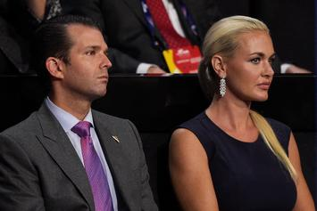 Donald Trump Jr.'s Wife Hospitalized After Opening Suspicious Package
