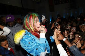 Tekashi 6ix9ine Attending NBA All Star Weekend Despite Canceled Shows & Gang Drama
