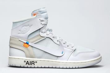 Off-White x Air Jordan 1 To Release Next Week In New Colorway