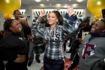Rihanna Announces Release Date For Fenty x PUMA Collaboration