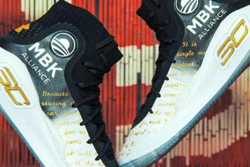 Steph Curry Teams With Obama Foundation On Custom Curry 4s