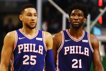 LeBron James Shows Love To Ben Simmons, Joel Embiid After Loss