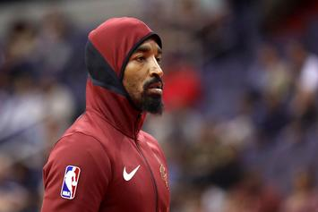 JR Smith Reportedly Threw Bowl Of Soup At Cavs Assistant Coach