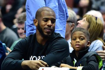 Chris Paul, Carmelo Anthony & Isaiah Thomas' Sons Model For Sean John