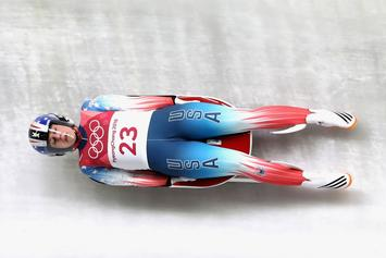 American Luger Emily Sweeney Walks Away From Terrifying Crash